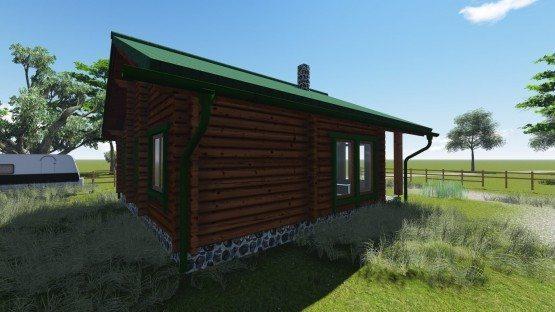 ξύλινο,προκάτ,προκατασκευασμένο,σπίτι,σαλέ,easy green, prokat