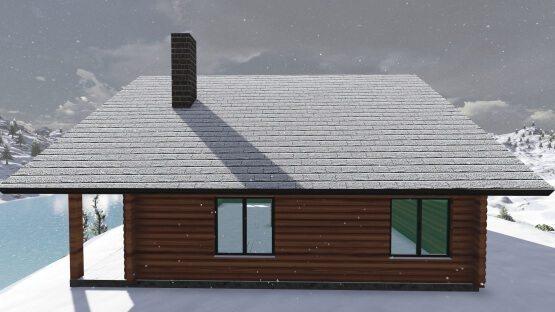 σχεδια ξύλινων σπιτιών, σαλέ, easy green