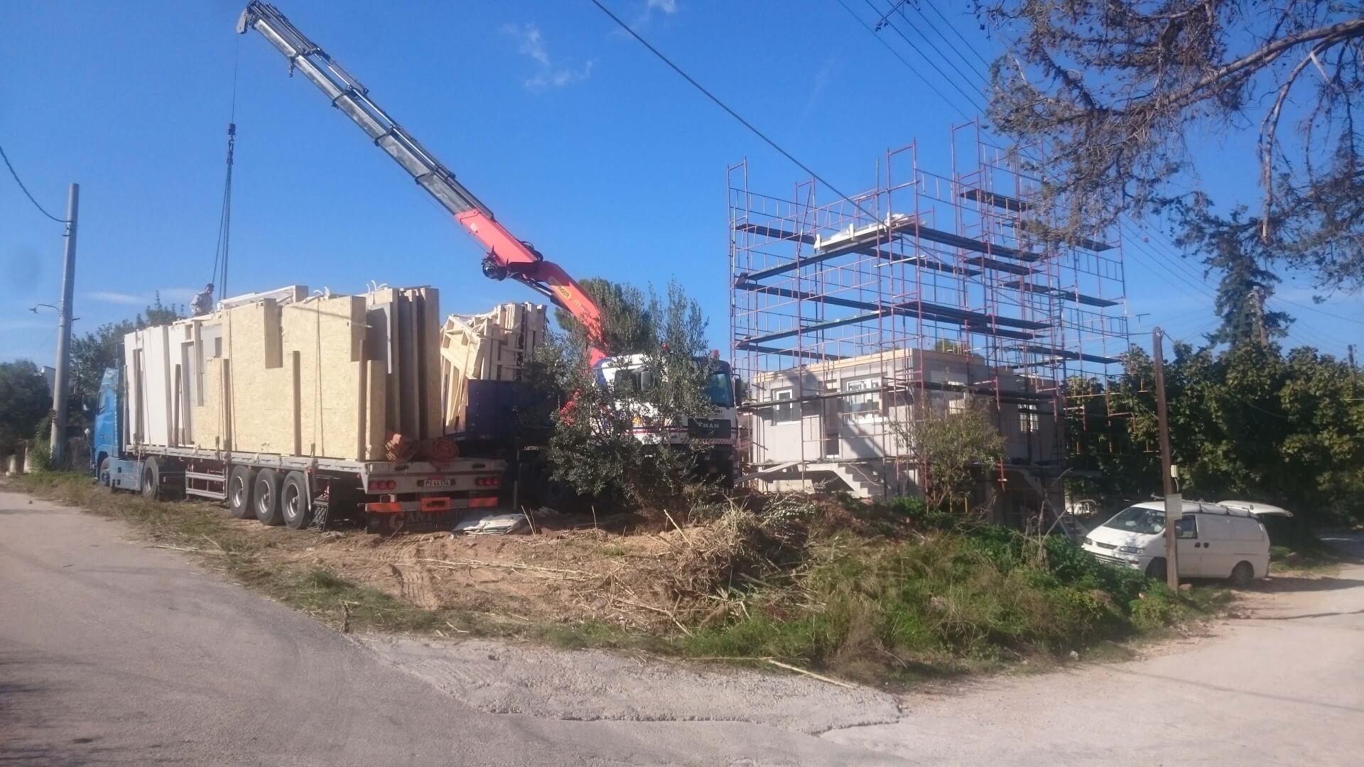 Ανέγερση κατοικίας Αρτέμιδα Αττικής