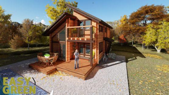 752b1f804b95 Σχέδια Ξύλινων Σπιτιών- Log Houses